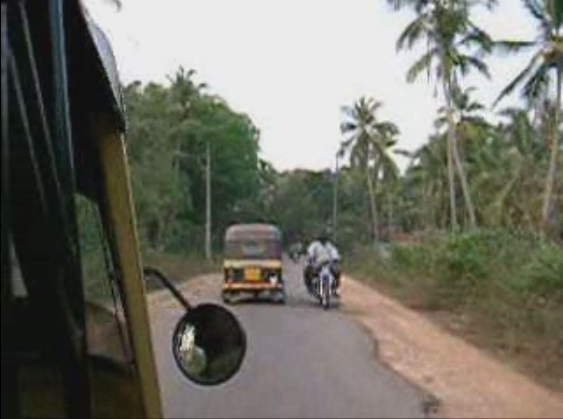 taxifahrt auf indisch